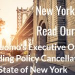 For Our NY Dental Clients: Executive Order Notice On Policy Cancellations
